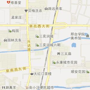 云夢山風景區地圖