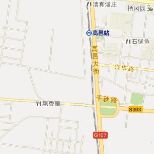 石家庄高邑电子地图_中国电子地图网