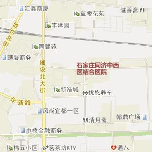 石家庄桥东电子地图_中国电子地图网