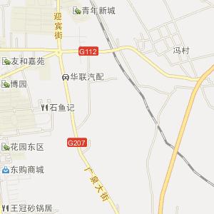 保定,涞源县,城市行政地图