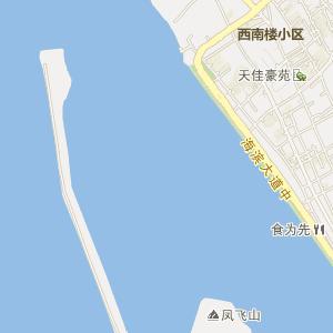 广东省汕尾市电子地图