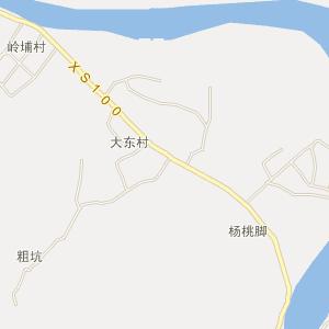 揭西县大溪镇电子地图图片