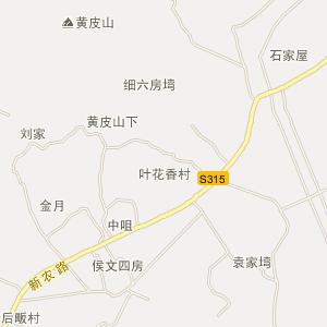 湖北电子地图 黄石电子地图