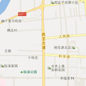 地区和涡阳县花沟,花沟西