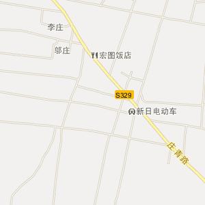 山东省电子地图 菏泽市电子地图