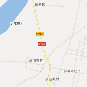 梁山县赵固堆乡电子地图
