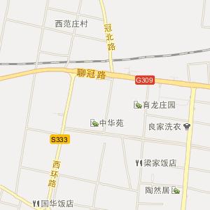 聊城市冠县电子地图_冠县在线旅游交通图图片