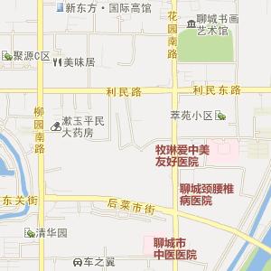 行政区划:聊城市辖冠县
