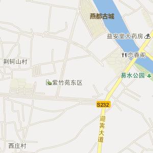 易县易州电子地图_中国电子地图网