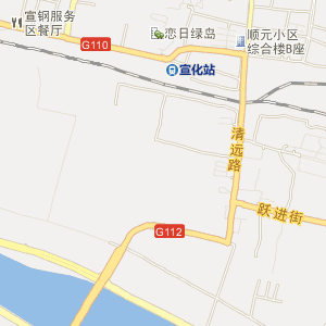 宣化天泰寺电子地图_中国电子地图网