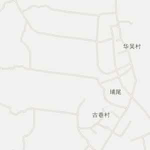 广东省电子地图 揭阳市电子地图