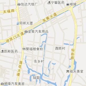广东省揭阳市电子地图