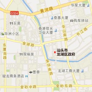 广东电子地图 汕头电子地图