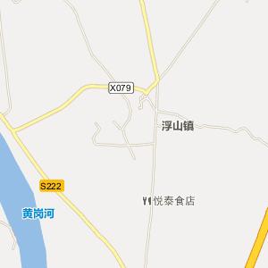 饶平县浮山镇电子地图图片