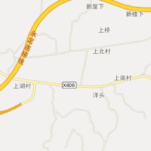 永定县湖雷镇电子地图_湖雷镇