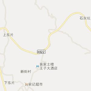 永定县湖坑镇在线(hukeng)电子地图实用查询