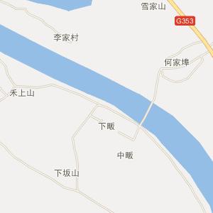 余干县三塘乡电子地图