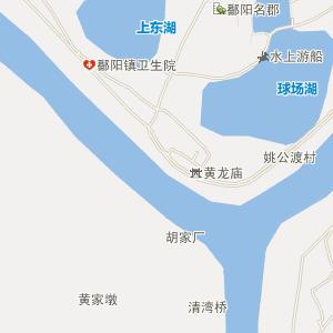 鄱阳县鄱阳镇电子地图