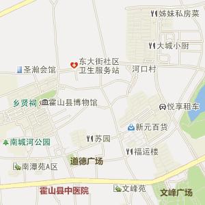 霍山衡山电子地图_中国电子地图网
