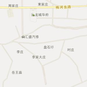 潜山县行政区划地图