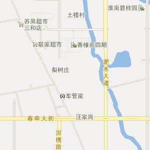 三和乡卫星地图 淮南市田家庵区三和乡卫星地图