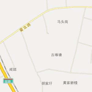 梨树县街道地图