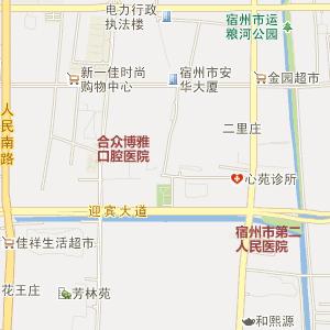 上海到砀山地图