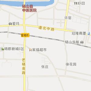 宿州市砀山县电子地图查询