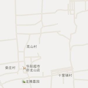 嘉祥县卧龙山镇高清电子地图