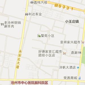 沧州吴桥县地图