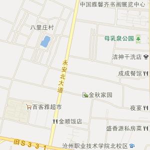 运河小王庄电子地图_中国电子地图网