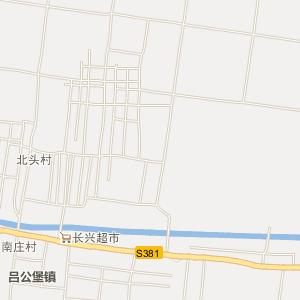 新华路街道电子地图
