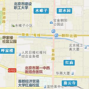 北京朝阳电子地图_朝阳在线旅游交通图