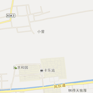 行政村地图标注