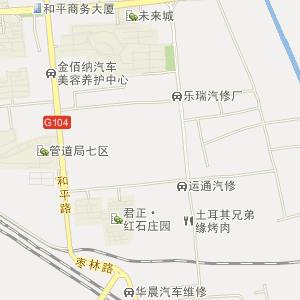 廊坊火车站位于市区 南面