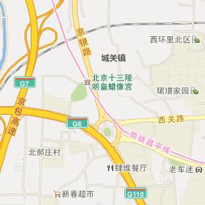 北京昌平电子地图_中国电子地图网