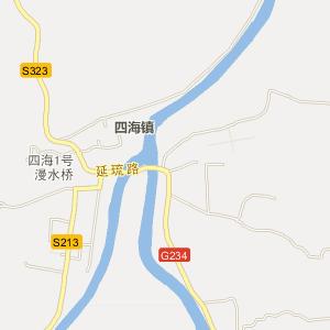山西省柳沟地图