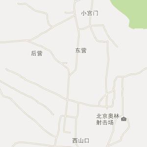 昌平十三陵电子地图