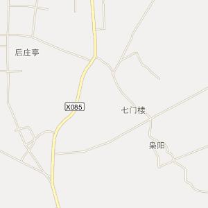 古县长临高速连接线图