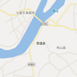 鄱阳凰岗电子地图