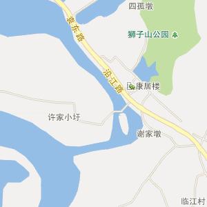 新河路电子地图