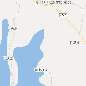 无为县牛埠镇电子地图查询_牛