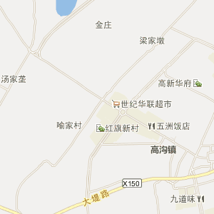 无为高沟电子地图_中国电子地图网