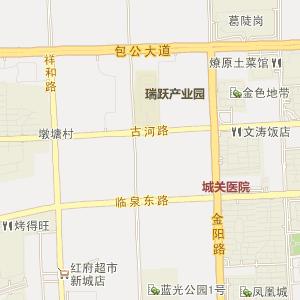 合肥肥东电子地图_中国电子地图网图片