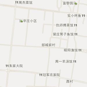 微山县昭阳街道电子地图