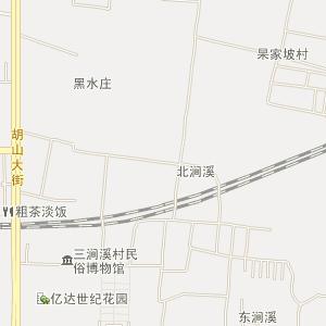 章丘市明水街道电子地图