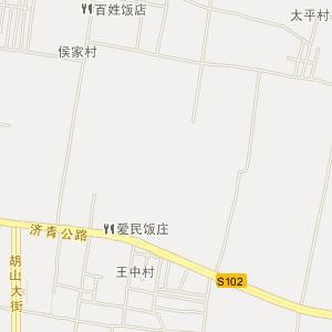 章丘明水电子地图_中国电子地