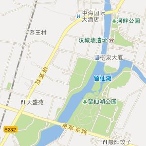 山东省电子地图 淄博市电子地图