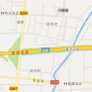 济南章丘刁镇地图