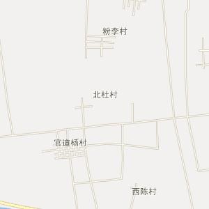 白杜村手绘地图